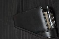 Filofax στην τσέπη Β κοστουμιών Στοκ φωτογραφία με δικαίωμα ελεύθερης χρήσης