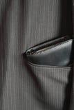 Filofax в карманн a костюма Стоковые Фотографии RF