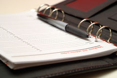Filofax 2 Royalty Free Stock Image