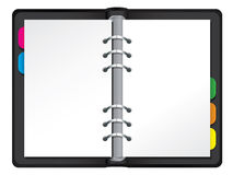 Filofax illustration Royalty Free Stock Image