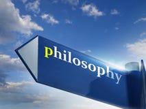 Filosofia Imagens de Stock