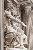 A filosofia das esculturas Imagens de Stock