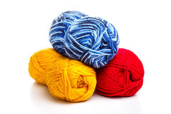 Fil à tricoter Photos stock