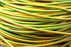 Fils électriques de câble électrique Photographie stock