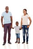 Fils africain de couples Photos stock