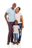 Fils africain de couples Photographie stock