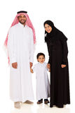 Fils Arabe de couples image stock