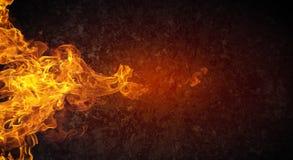 Fils ardents abstraits illustration de vecteur