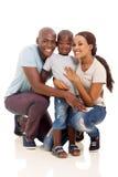 Fils de couples d'afro-américain Photographie stock libre de droits
