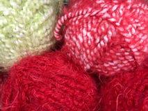 Fils et fil pour la broderie et le tricotage Image libre de droits