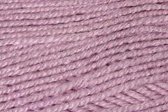 Fils roses de laine Photos libres de droits