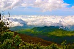 Filt av moln Arkivfoton