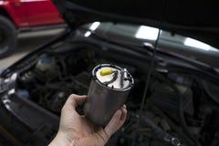 Filte del combustibile diesel dell'automobile Immagini Stock