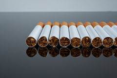 Filter cigarettes Royalty Free Stock Photos