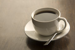 Filter coffee in a cup Royalty Free Stock Images