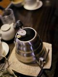 Filter Coffee on wooden board royalty free stock images