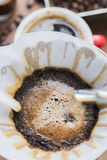 Filter drip coffee Royalty Free Stock Images
