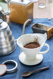 Filter drip coffee Royalty Free Stock Photo