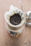 Filter drip coffee Stock Image