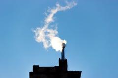 Filter för rök för gas för rökkanalmiljöenergi Royaltyfri Foto
