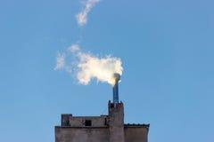 Filter för rök för gas för rökkanalmiljöenergi Arkivbild