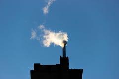 Filter för rök för gas för rökkanalmiljöenergi Royaltyfri Bild