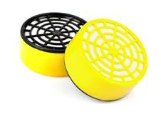 Filter of respirator Stock Photo