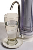 The filter for tap water clearing. royalty free stock images