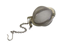 Strainer for brewing tea Stock Photo