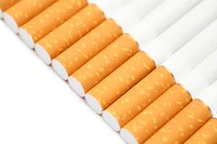 Filter tipped cigarettes Royalty Free Stock Photography
