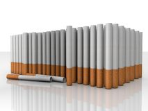 Filter tubes. Illustation of Filter tubes in 3D Royalty Free Stock Photos