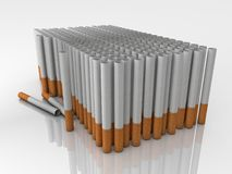 Filter tubes Stock Photography