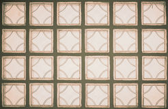( Filtered image processed vintage effect. ). Glass wall ( Filtered image processed vintage effect vector illustration