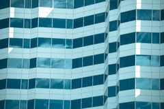 Filtered Modern Office buildings facade texture Stock Photography