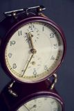 Filtered picture of a vintage alarm clock Stock Photos
