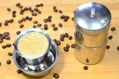 Filterkaffe Royaltyfria Bilder
