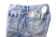 Filthy_Jean_Pocket Royalty Free Stock Photos