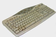Filthy Keyboard Royalty Free Stock Image