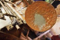 Filtração de prata na mina de Potosi fotos de stock royalty free
