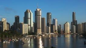 Filtrado del tiro de Brisbane del punto del canguro almacen de video