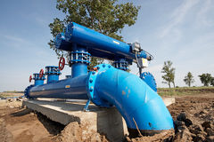 Filtration de l'eau photo libre de droits