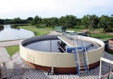 filtrationväxtvatten Royaltyfria Foton