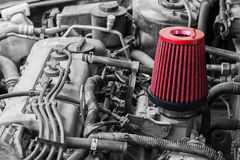 Filtre à air de voiture Image stock