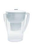 Filtre blanc pour l'eau photos stock