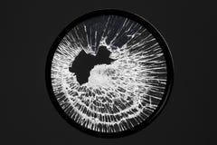 Filtre cassé d'objectif de caméra photographie stock libre de droits