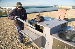 Filtre changeant sur l'élément de dessus de toit Photographie stock libre de droits