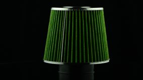 Filtre de cône d'air clips vidéos