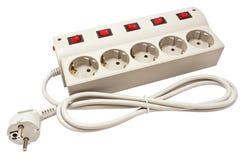 Filtre de cable électrique Photo libre de droits