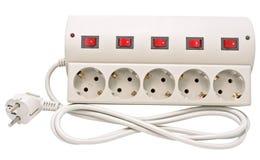 Filtre de cable électrique Photos libres de droits