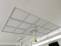 Filtre de HEPA et filtre de logement, filtre du joint HEPA de gel pour le Cleanroom photos stock